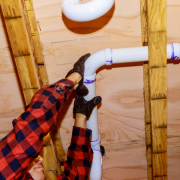 How To Repair PVC Pipe In Tight Spaces
